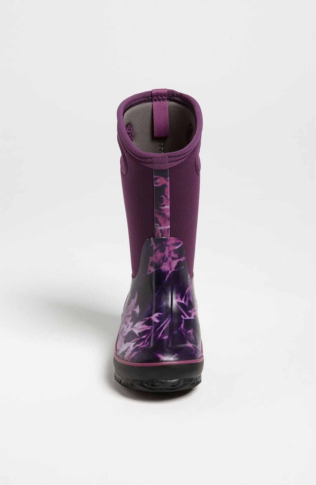Alternate Image 3  - Bogs 'Classic High - Batik' Waterproof Boot (Toddler, Little Kid & Big Kid)