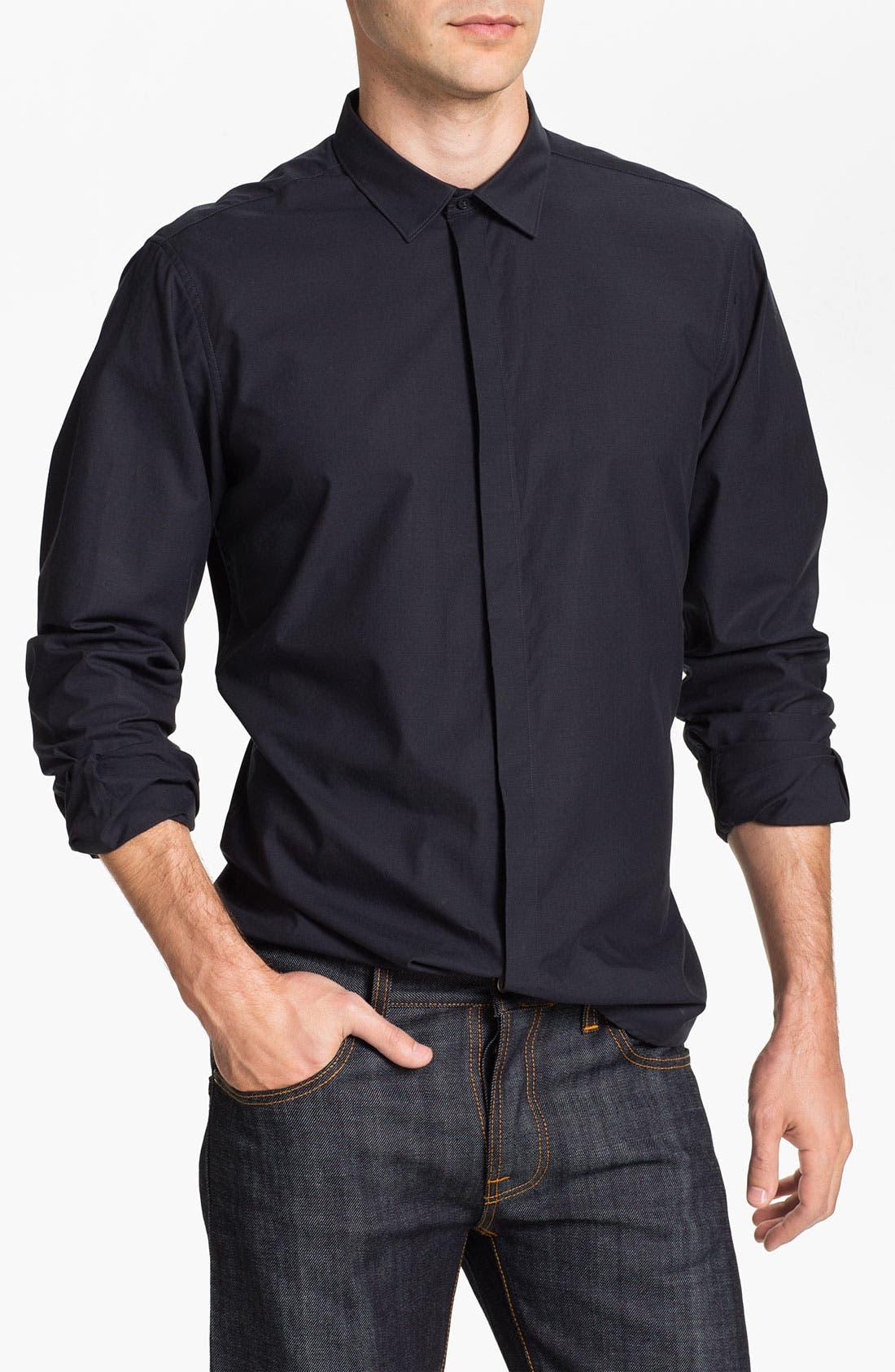 Alternate Image 1 Selected - Ben Sherman Solid Woven Shirt
