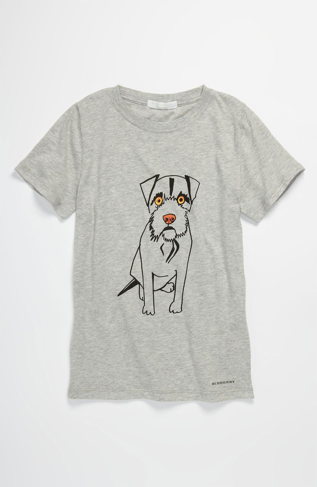 Alternate Image 1 Selected - Burberry Dog Screenprint T-Shirt (Little Boys & Big Boys)