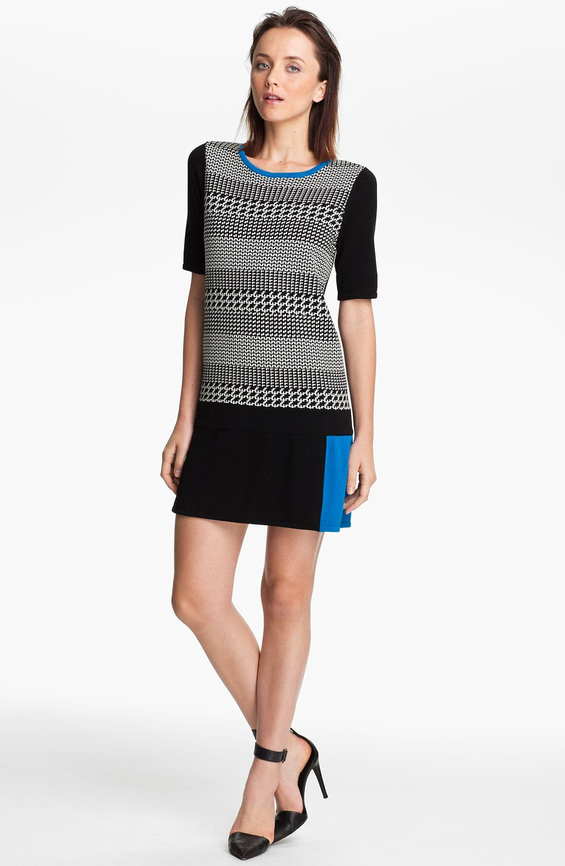 Alternate Image 1 Selected - Tibi Intarsia Knit Sweater Dress