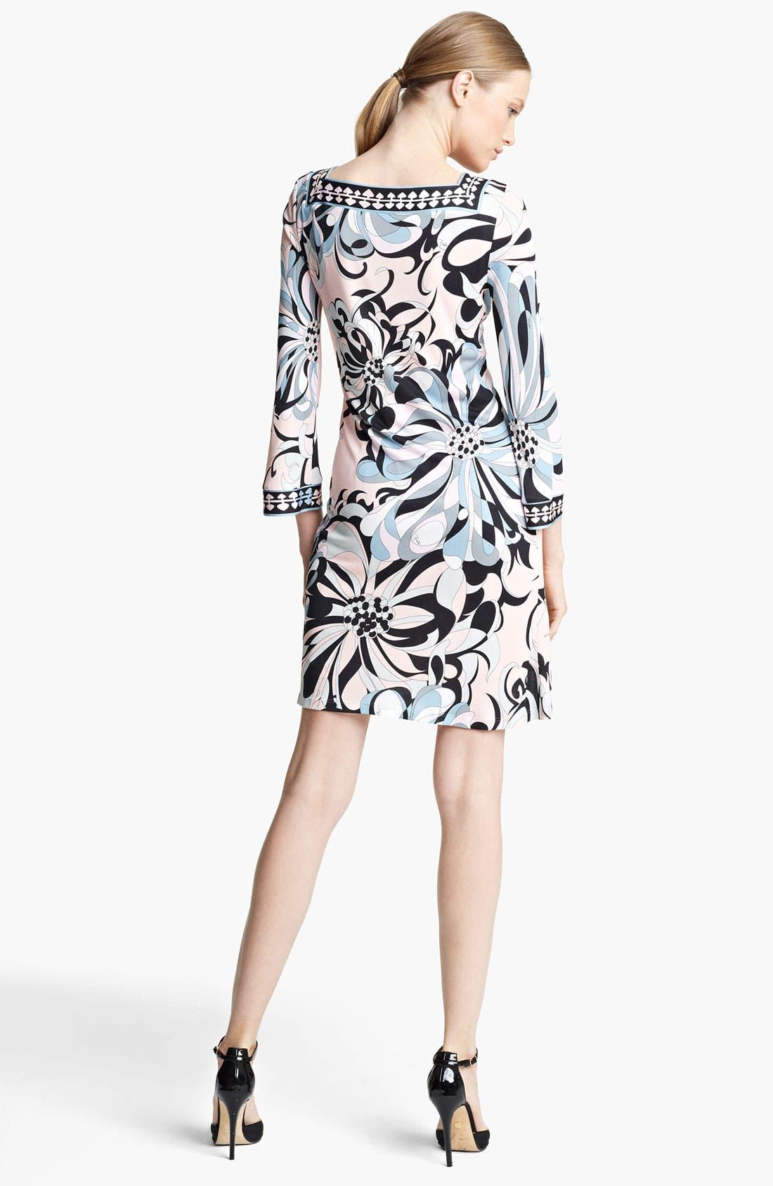Alternate Image 2  - Emilio Pucci Floral Print Jersey Shift Dress