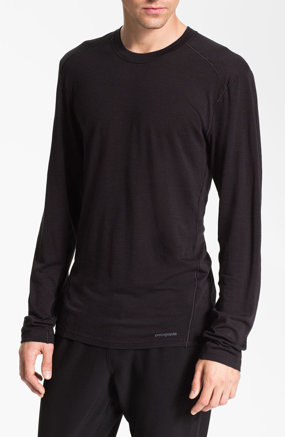 Alternate Image 1 Selected - Patagonia 'Merino® 1' Long Sleeve T-Shirt