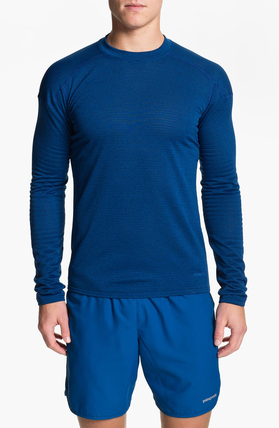 Alternate Image 1 Selected - Patagonia 'Capilene® 4' Expedition Weight Crewneck Top (Online Only)