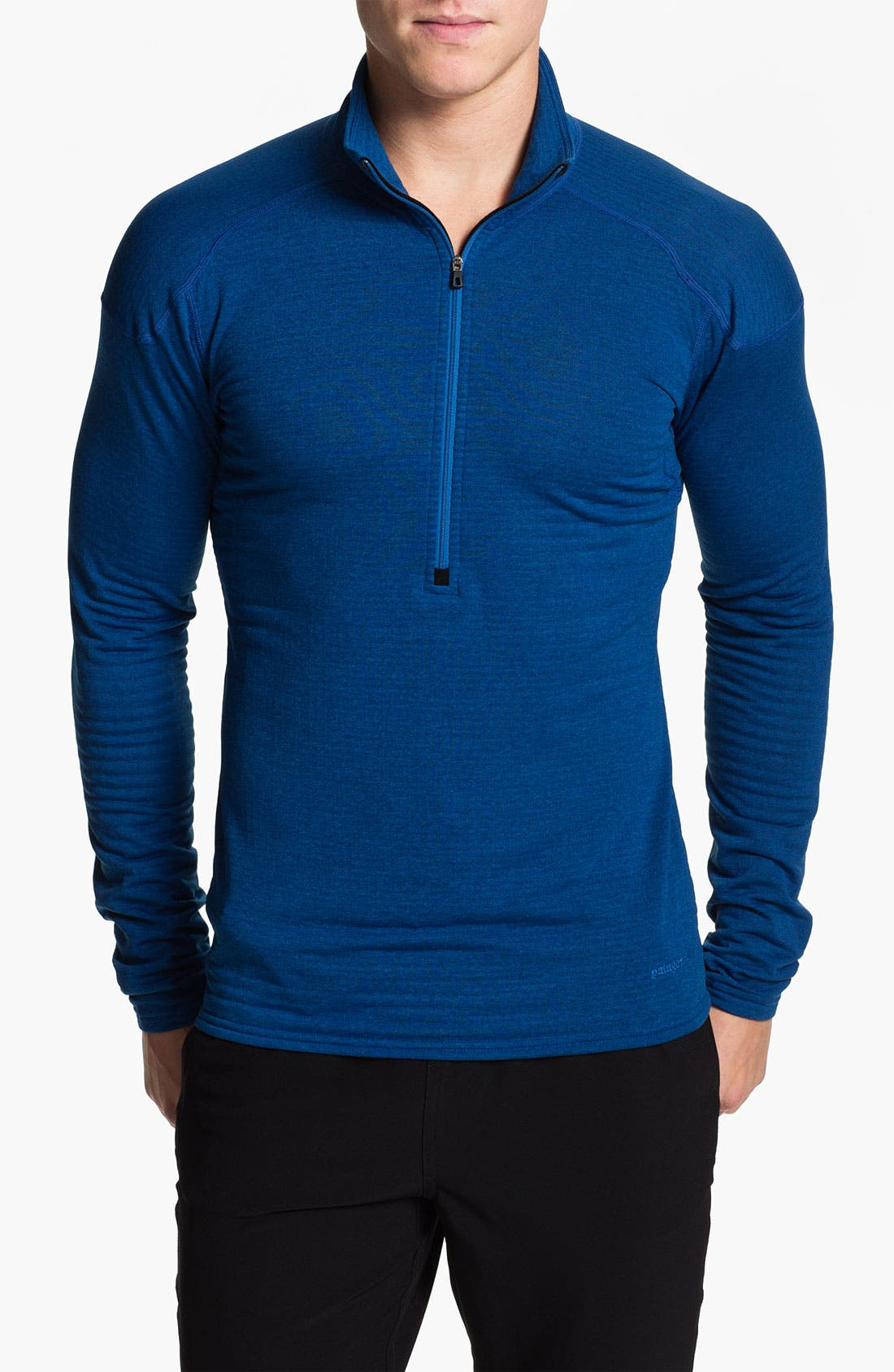 Alternate Image 1 Selected - Patagonia 'Capilene® 4' Expedition Weight Zip Neck Top (Online Only)