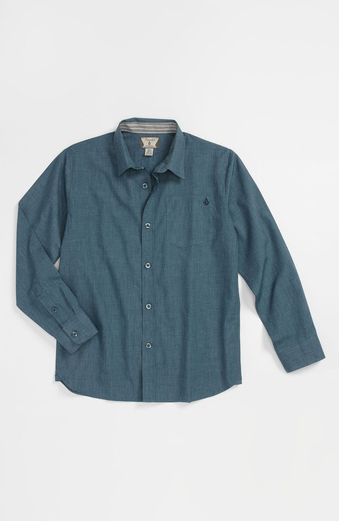 Main Image - Volcom 'Ex Factor' Woven Shirt (Big Boys)