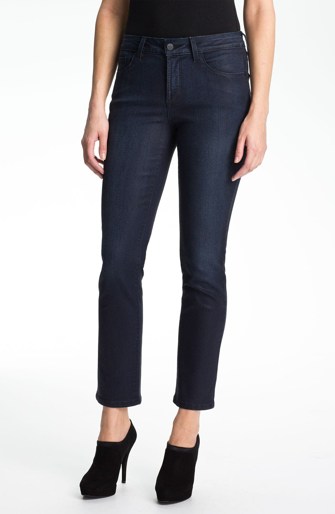 Alternate Image 1 Selected - NYDJ 'Sheri' Skinny Jeans (Petite)