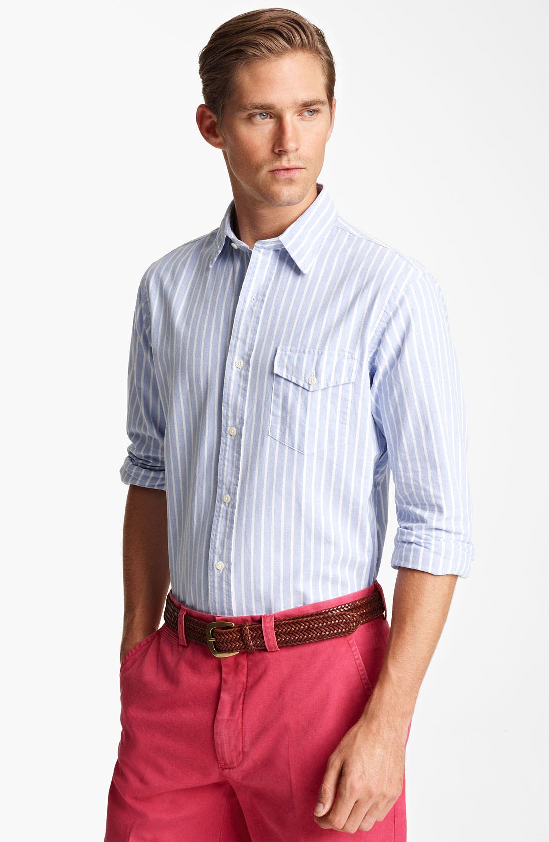 Main Image - Polo Ralph Lauren Custom Fit Sport Shirt (Online Exclusive)
