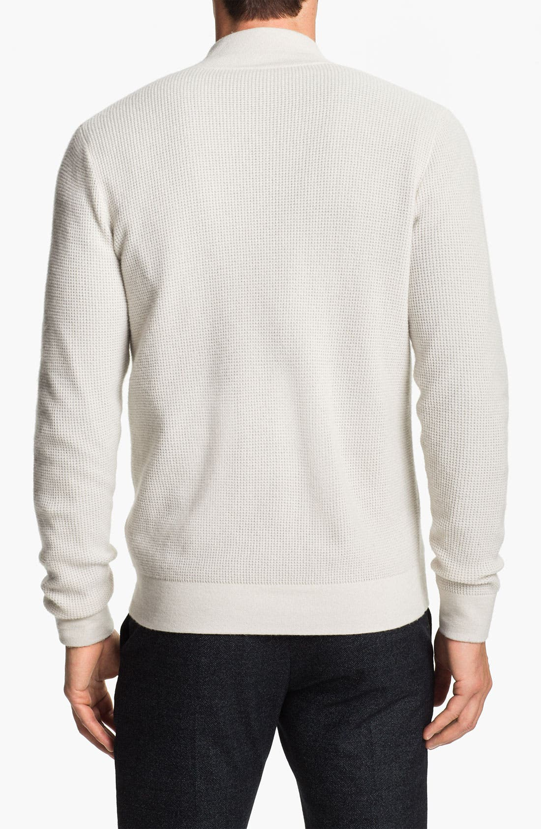 Alternate Image 2  - Theory Zip Front Cashmere Cardigan