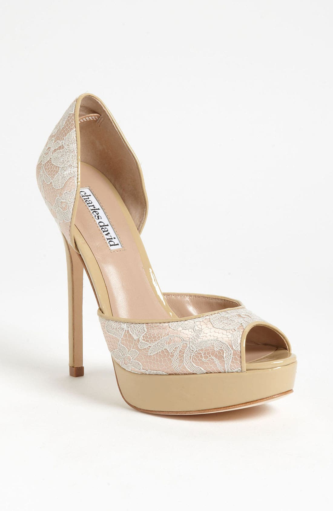 Alternate Image 1 Selected - Charles David 'Acanthus' Pump (Online Only)