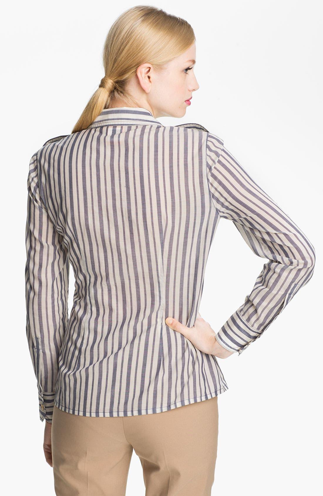 Alternate Image 2  - Tory Burch 'Brigitte' Cotton Shirt