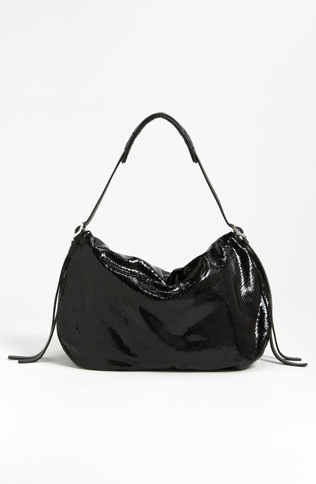 Alternate Image 4  - Jimmy Choo 'Biker' Snake Embossed Leather Shoulder Bag