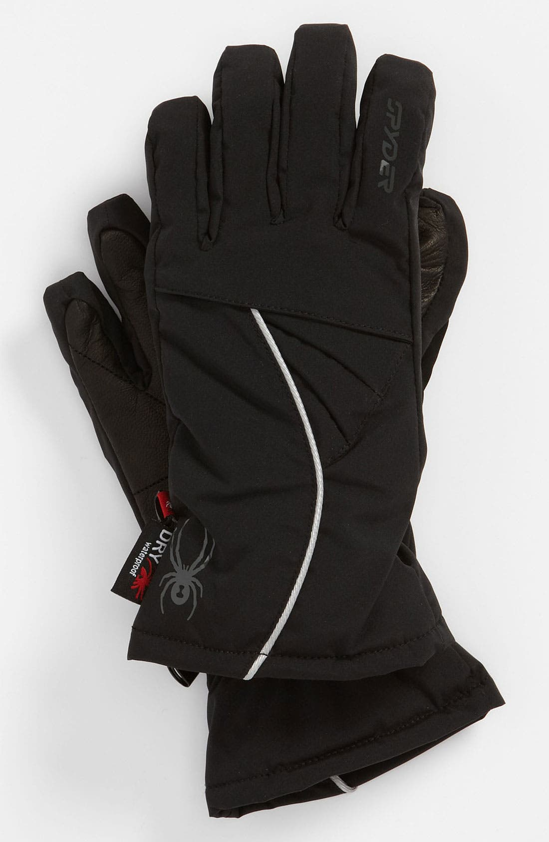 Main Image - Spyder 'Spark' Ski Gloves (Girls)