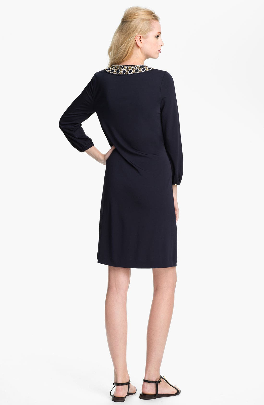 Alternate Image 2  - Tory Burch 'Carissa' Embellished Sheath Dress