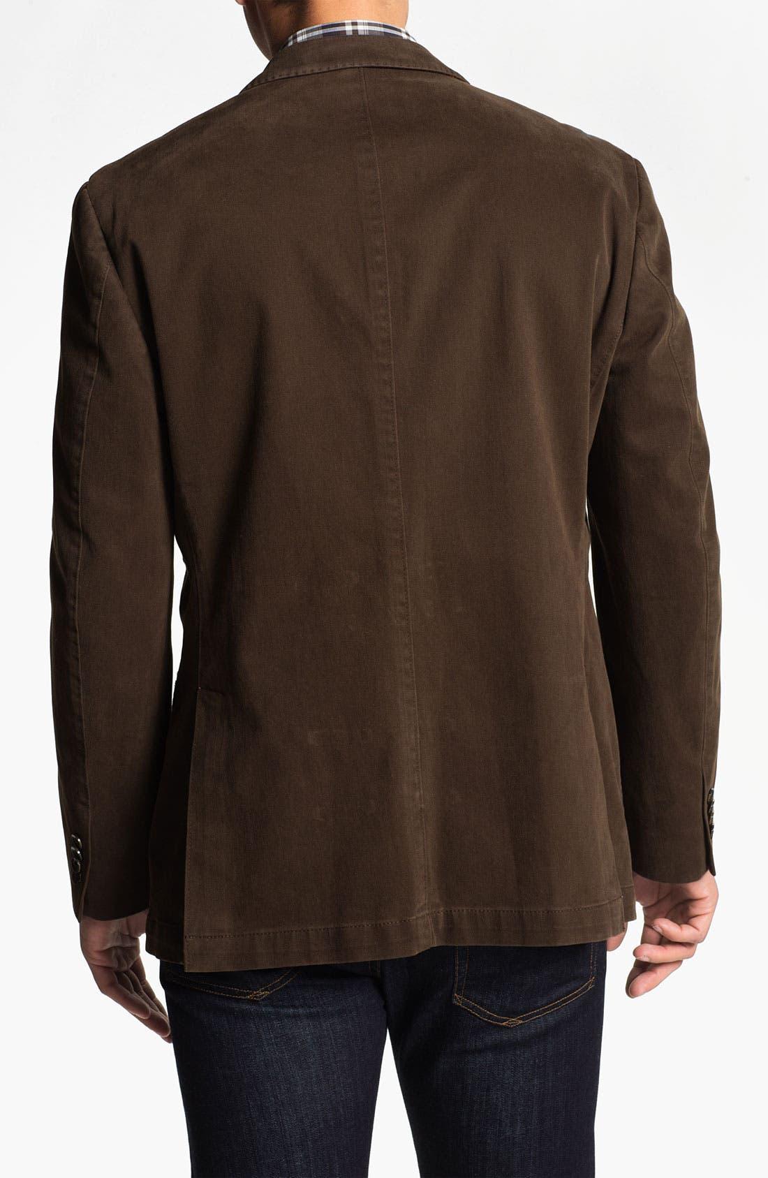 Alternate Image 2  - Kroon Brushed Cotton Sportcoat