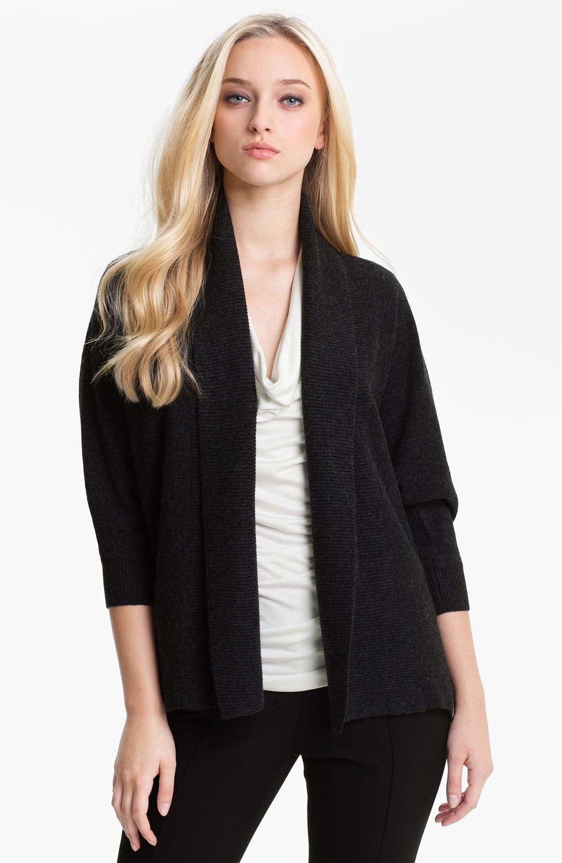 Main Image - Nordstrom Collection Open Front Cashmere Cardigan