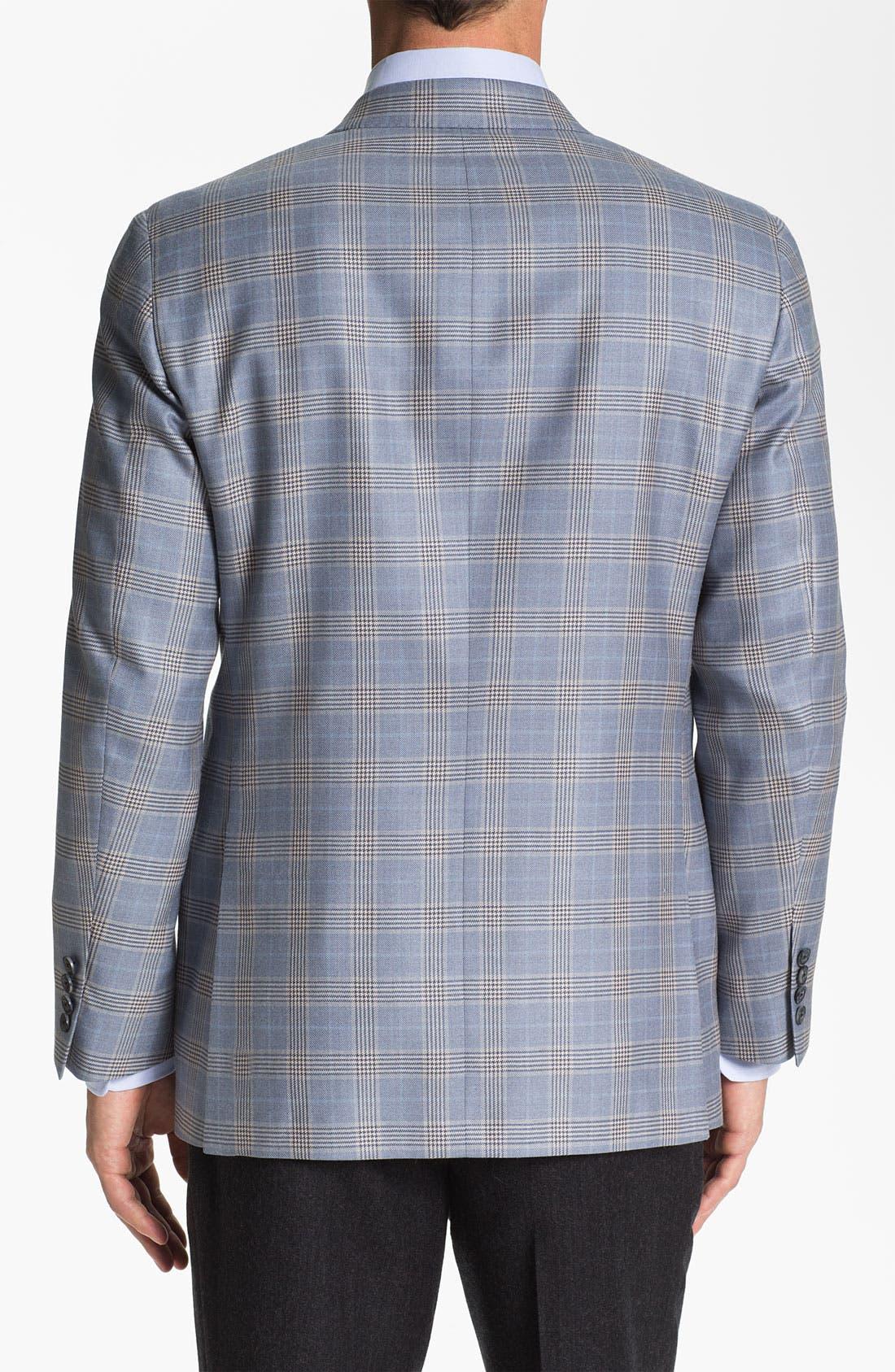 Alternate Image 2  - Samuelsohn Plaid Sportcoat