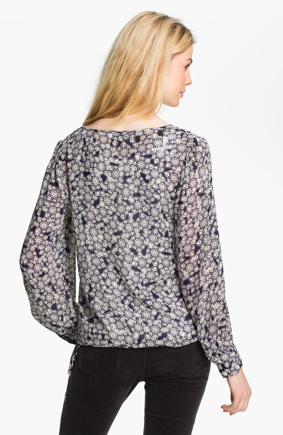 Alternate Image 2  - Lucky Brand 'Farrah' Print Blouse