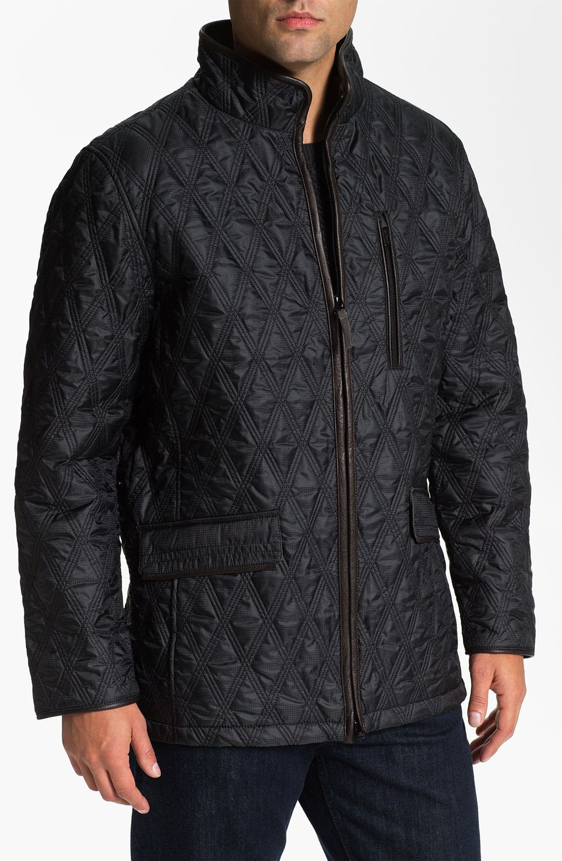 Main Image - RAINFOREST Quilted Jacket