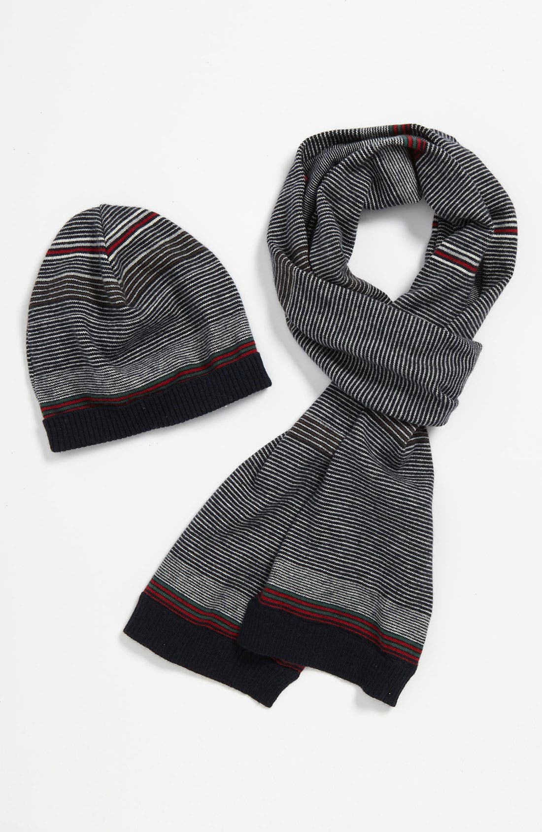 Alternate Image 1 Selected - United Colors of Benetton Kids Hat & Scarf (Little Boys & Big Boys)