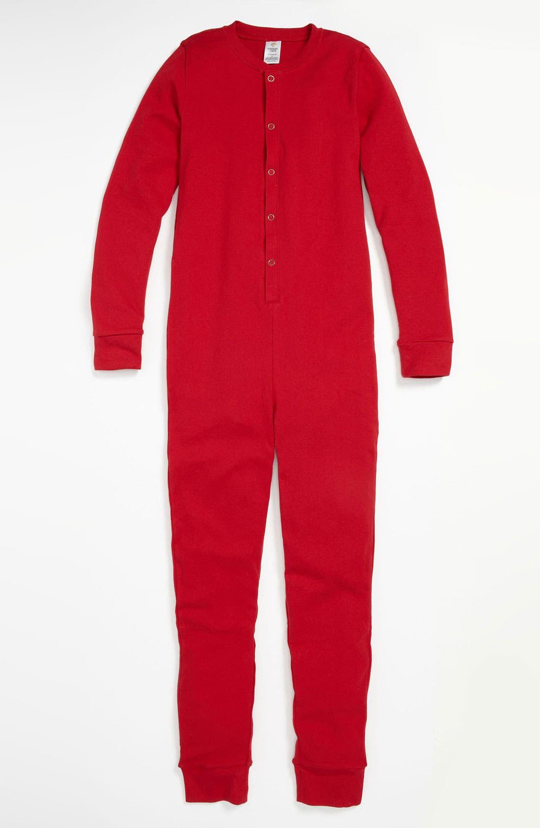 Alternate Image 1 Selected - Tucker + Tate 'Fireside' Fitted Pajamas (Little Boys & Big Boys)