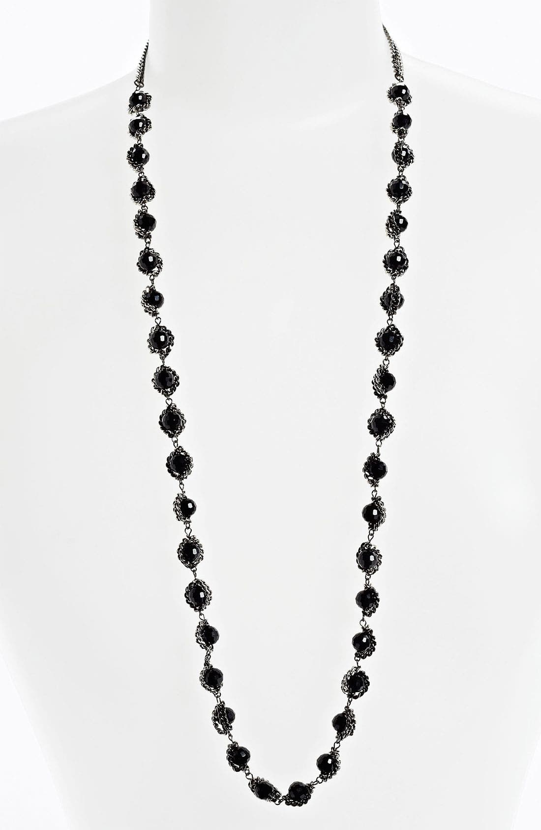 Alternate Image 1 Selected - Nordstrom Bead & Chain Necklace