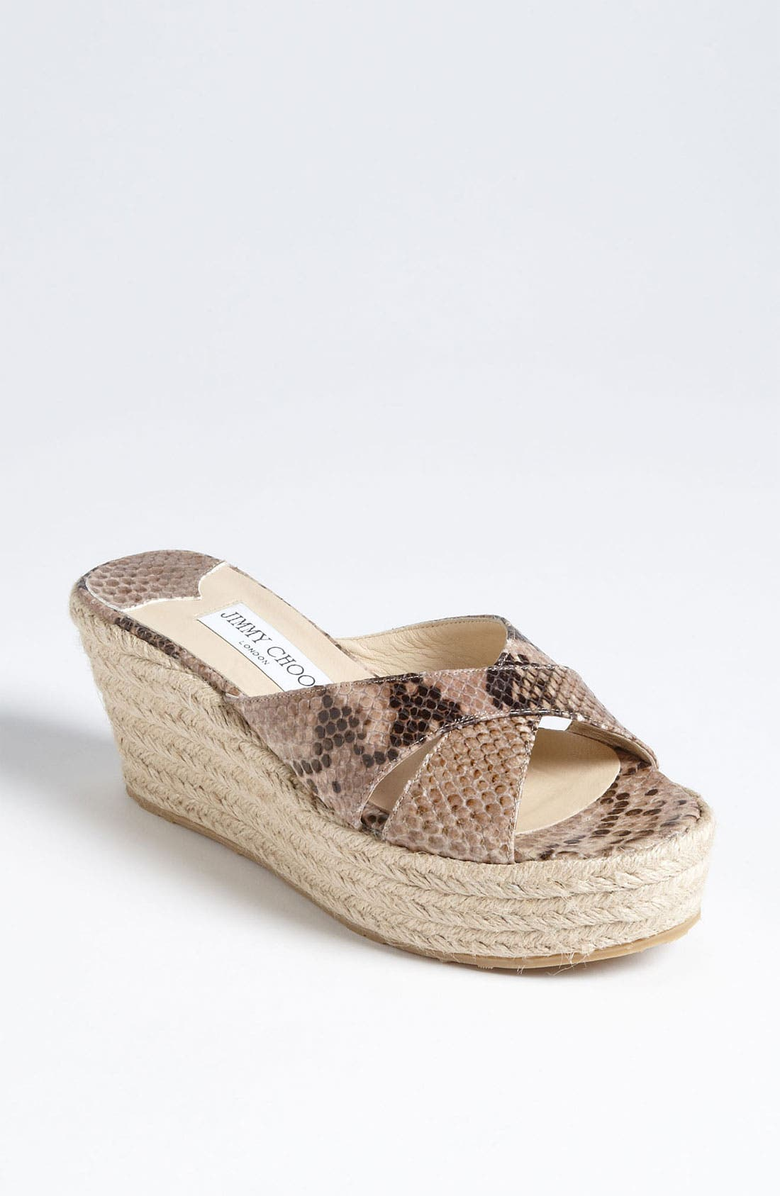 Main Image - Jimmy Choo 'Paisley' Wedge Sandal