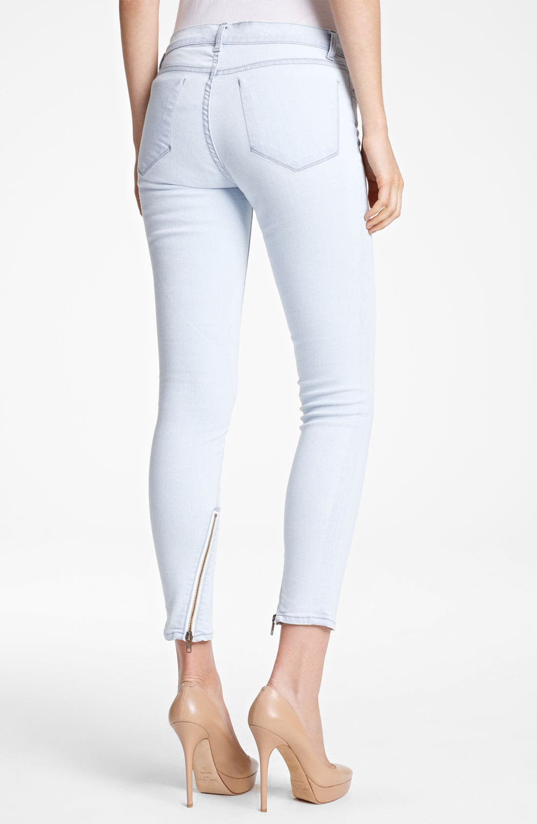 Alternate Image 2  - J Brand + Christopher Kane Skinny Stretch Jeans
