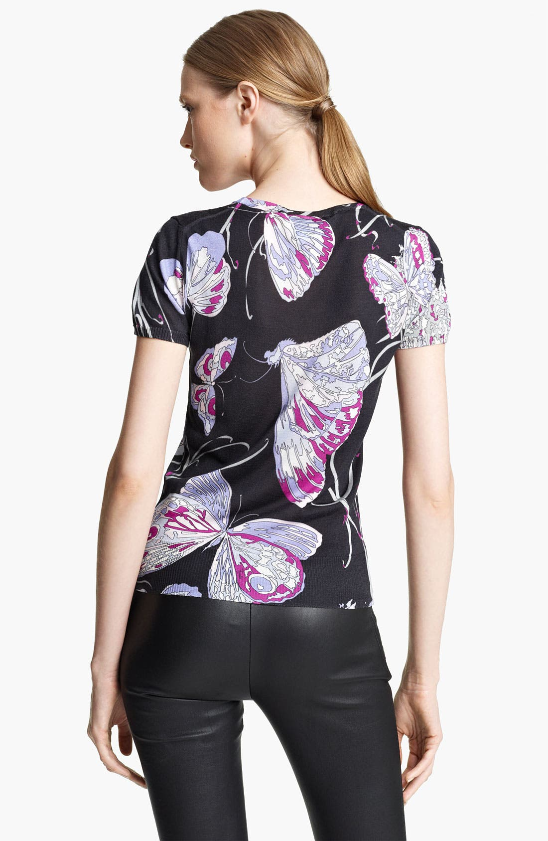 Alternate Image 2  - Emilio Pucci Butterfly Print Tee