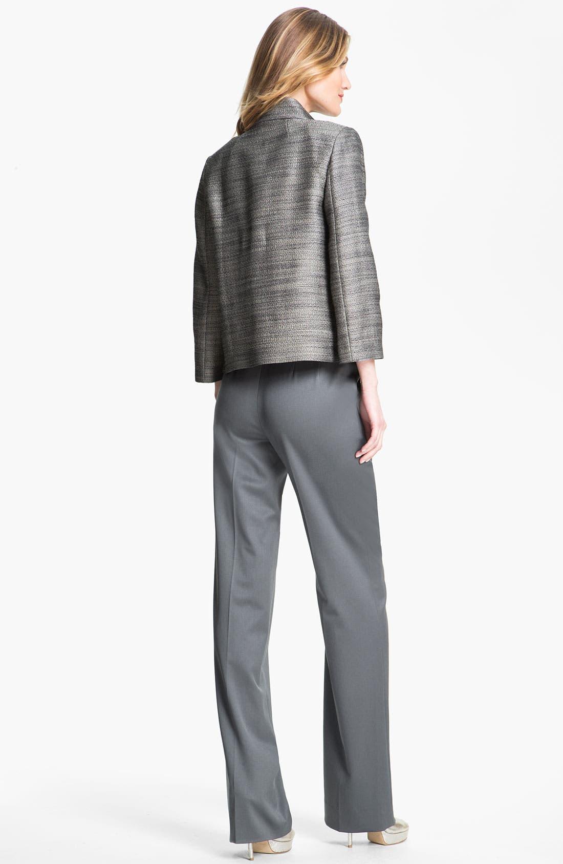 Alternate Image 4  - St. John Collection Venetian Wool Pants