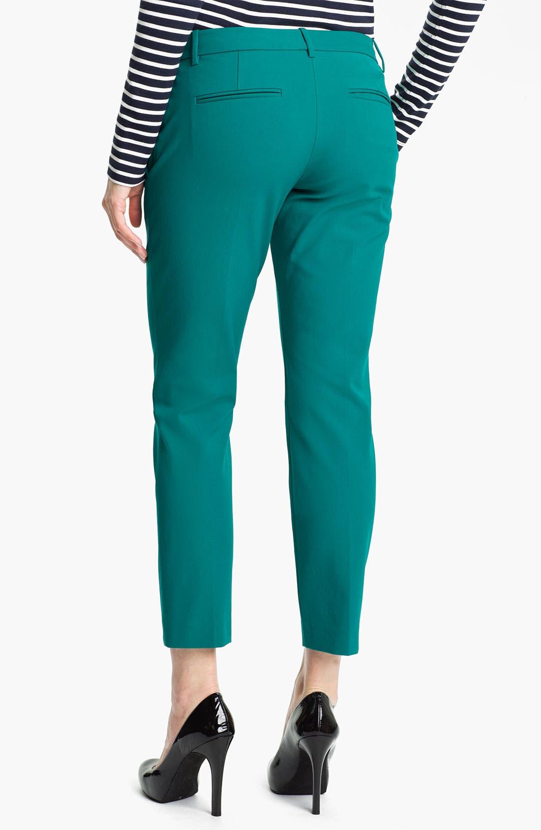 Alternate Image 2  - Theory 'Sienna' Crop Pants