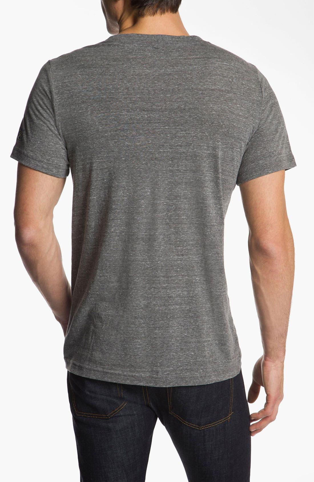 Alternate Image 2  - The Original Retro Brand 'St. Louis Blues - Stitch' T-Shirt