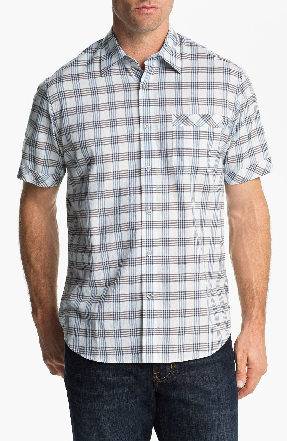 Alternate Image 1 Selected - James Campbell 'Blum Plaid' Sport Shirt