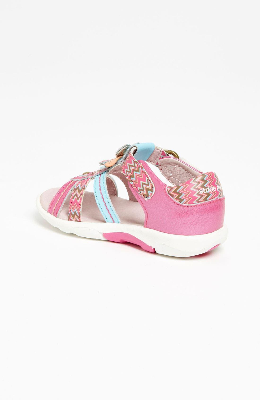 Alternate Image 2  - Stride Rite 'Brenna' Sandal (Baby, Walker & Toddler)