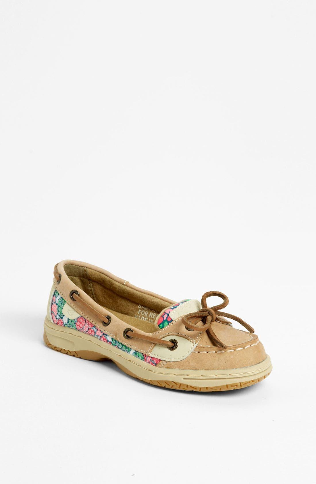 Alternate Image 1 Selected - Sperry Top-Sider® 'Angelfish' Boat Shoe (Little Kid & Big Kid)