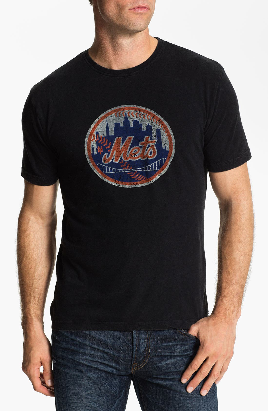 Alternate Image 1 Selected - Red Jacket 'New York Mets' Trim Fit T-Shirt (Men)