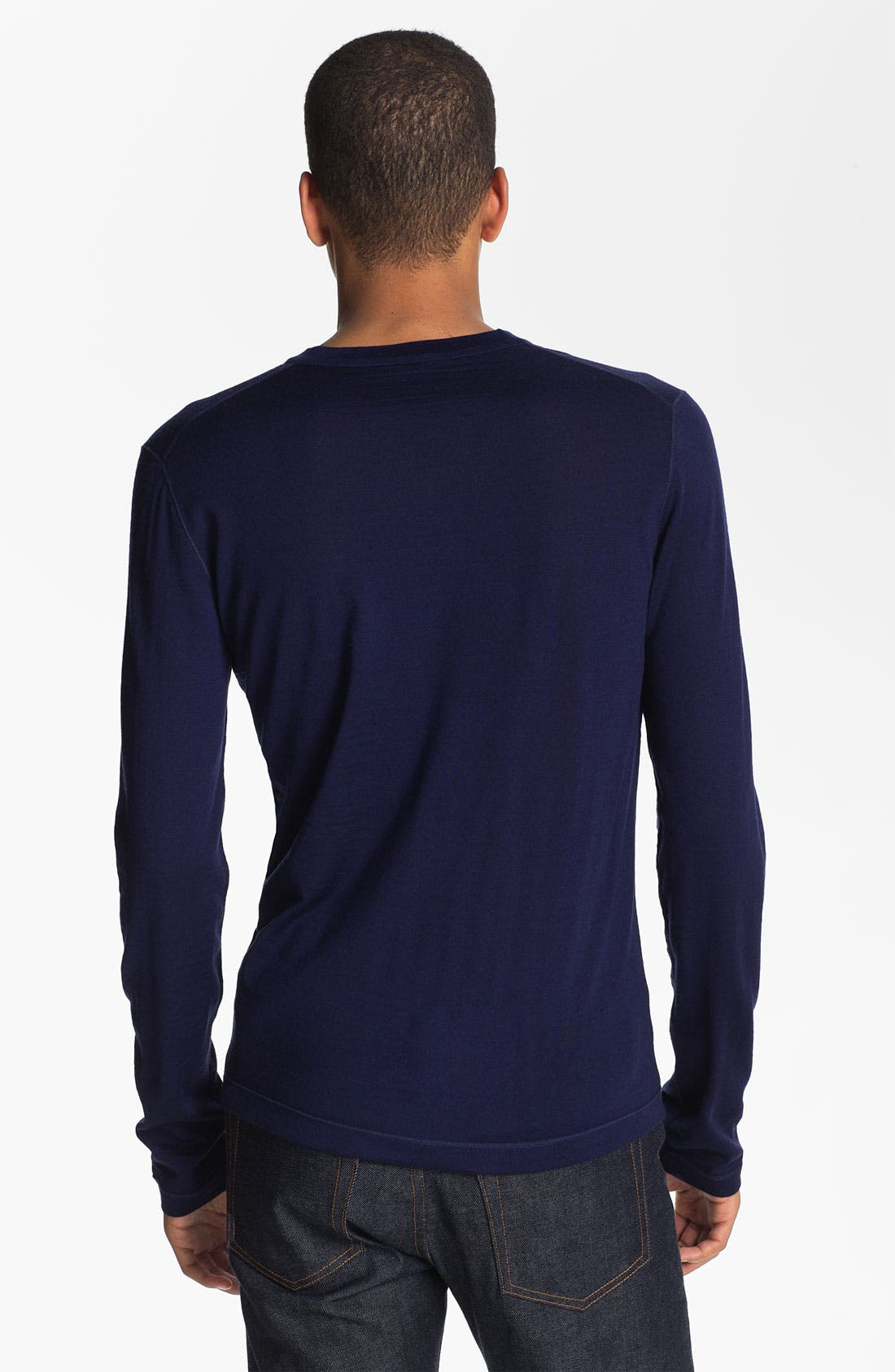 Alternate Image 2  - Jil Sander V-Neck Wool Sweater