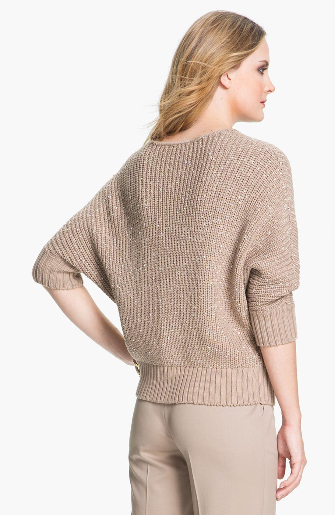 Alternate Image 3  - St. John Yellow Label Sequin Knit Sweater
