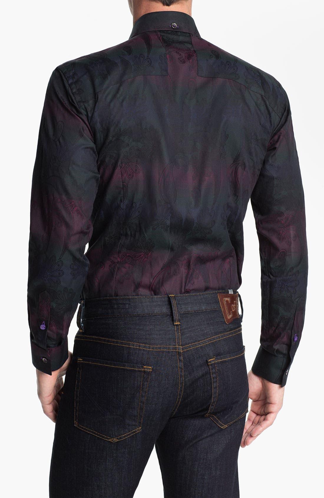 Alternate Image 2  - Bogosse 'Kaz 89' Trim Fit Sport Shirt