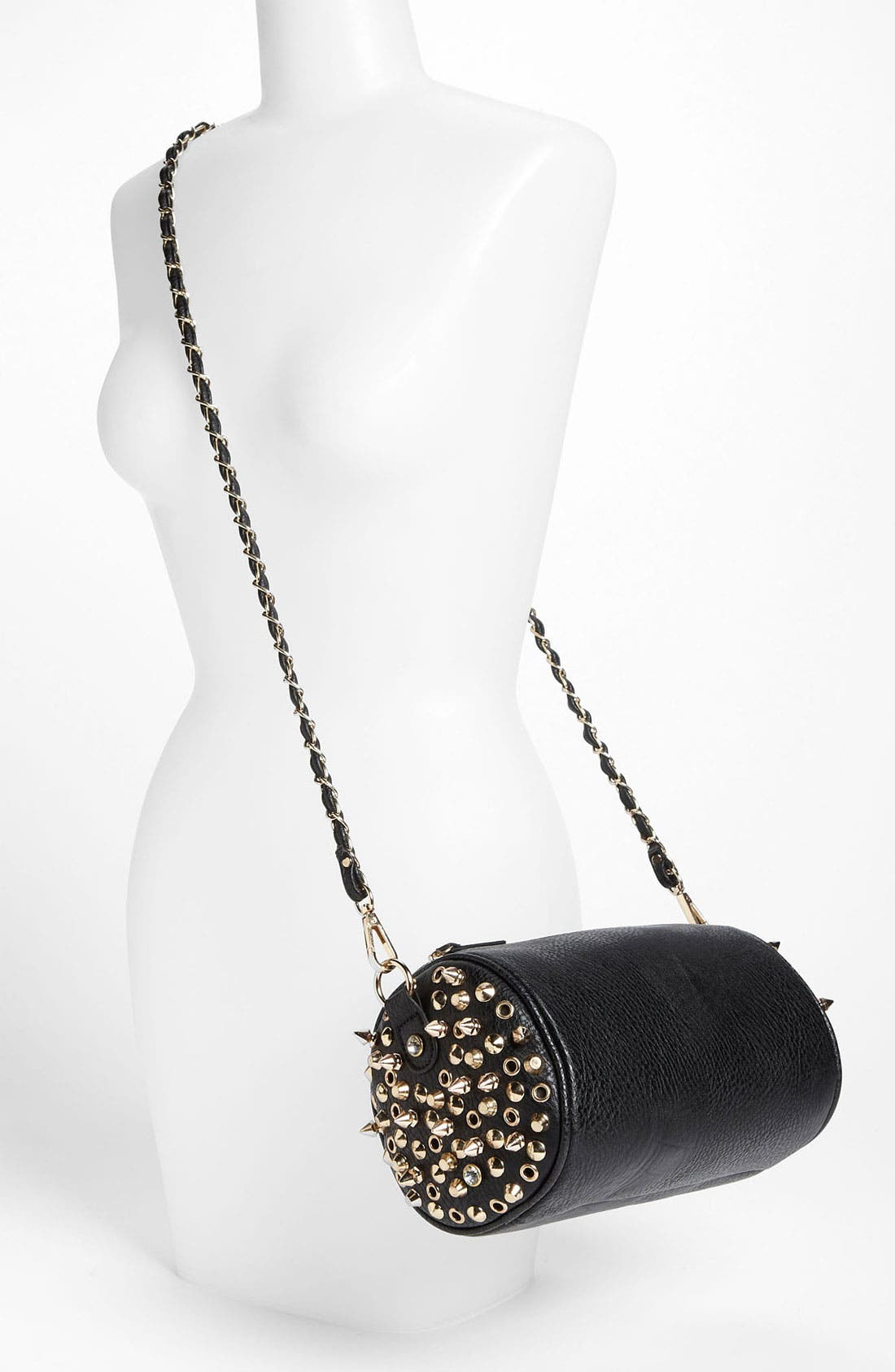 Alternate Image 2  - Street Level Studded Barrel Bag