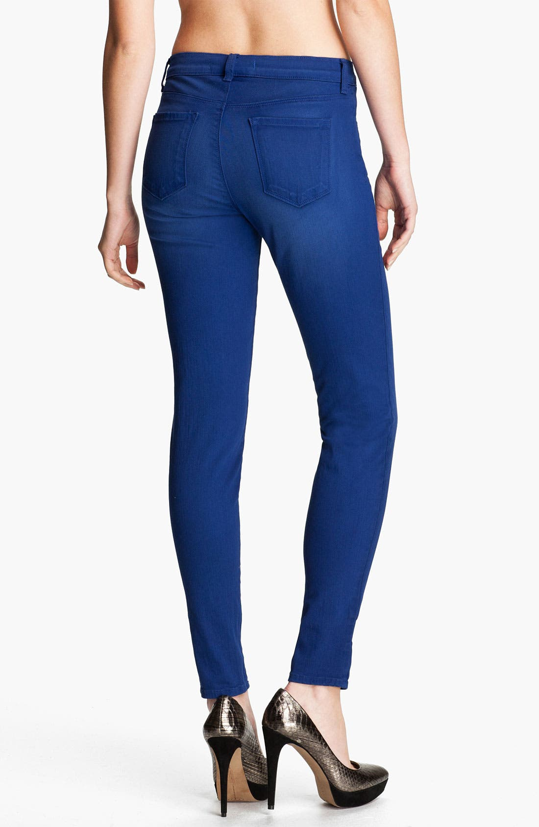 Alternate Image 2  - J Brand Super Skinny Stretch Jeans