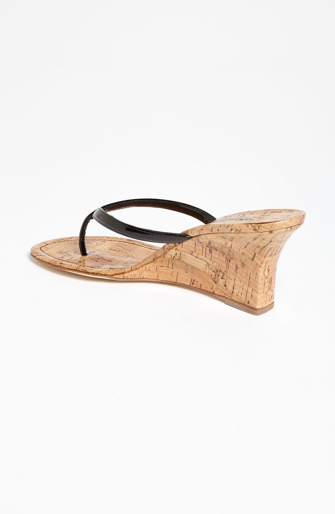 Alternate Image 2  - Manolo Blahnik 'Patwedge' Sandal