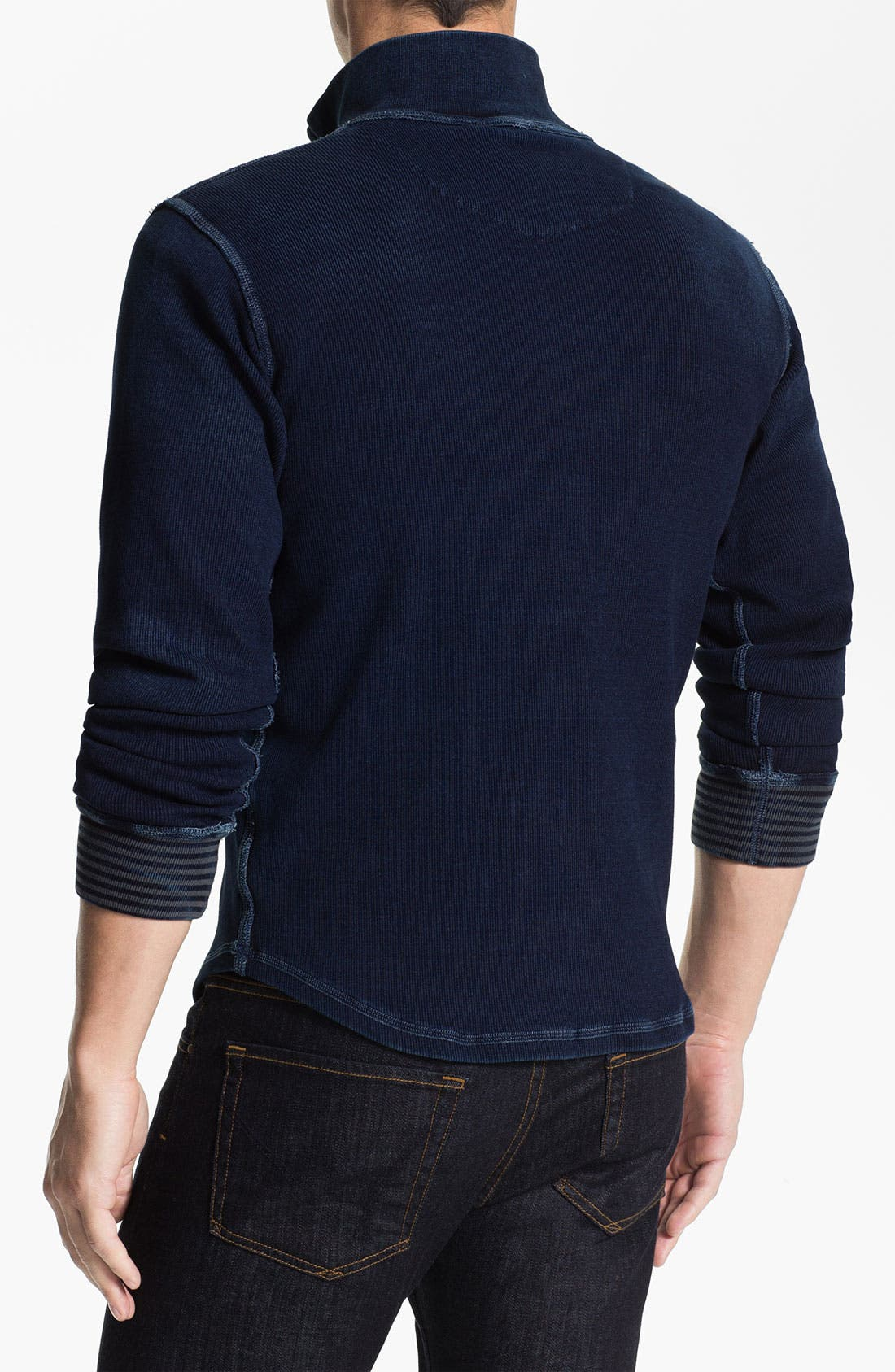 Alternate Image 2  - Robert Graham 'Gable' Mock Neck Pullover