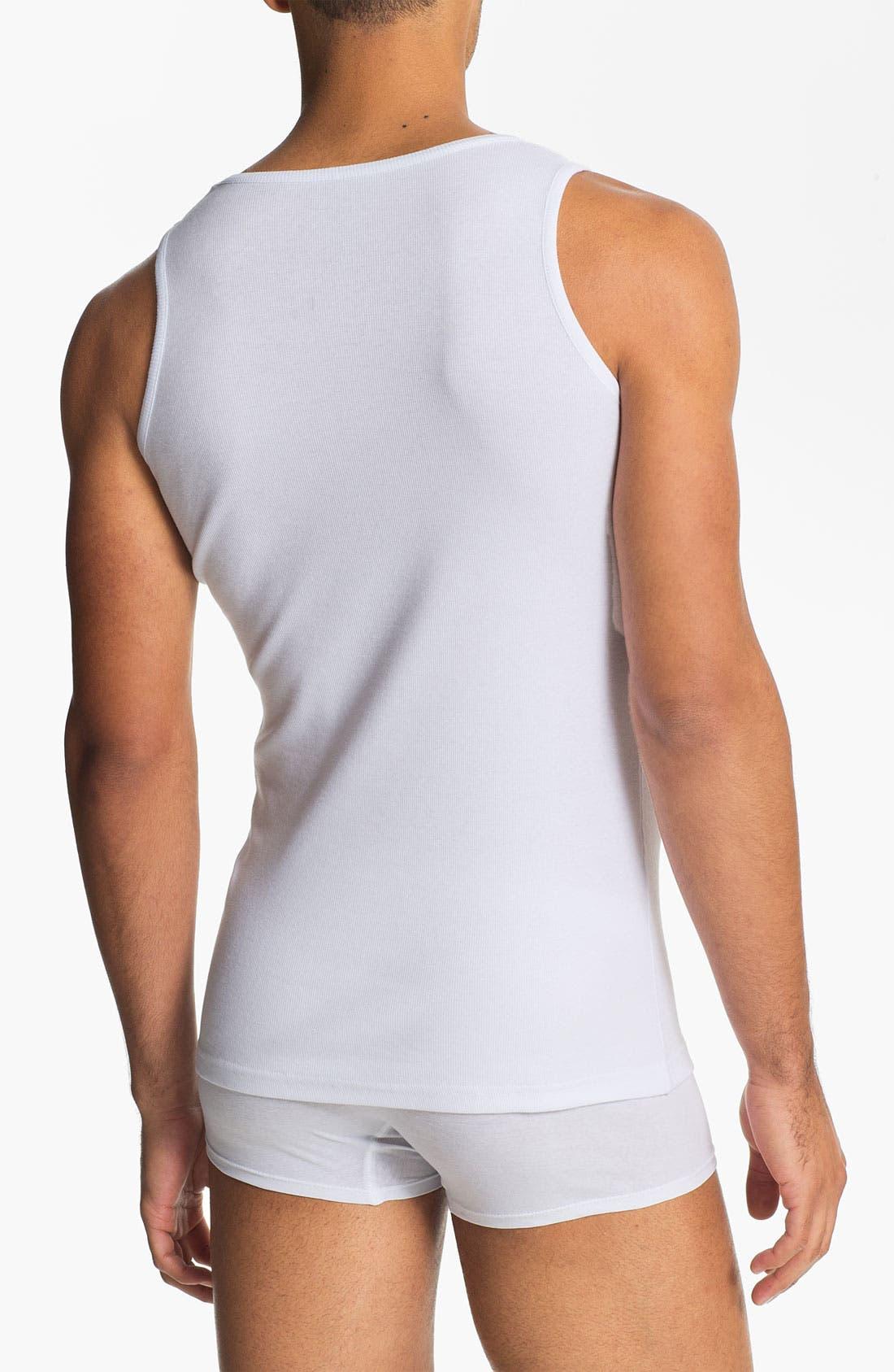 Alternate Image 2  - Naked Supima® Cotton Blend Tank