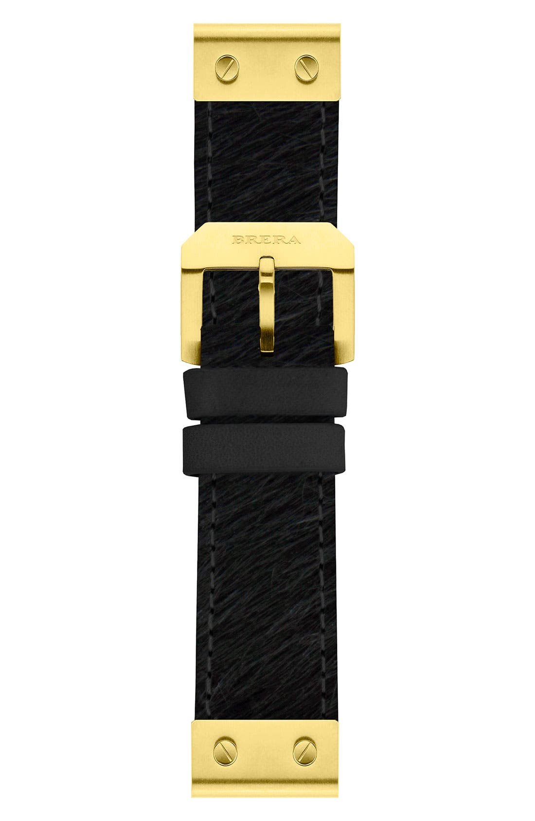 Alternate Image 1 Selected - 22MM PONY HAIR STRAP W/ GOLD HARDWARE