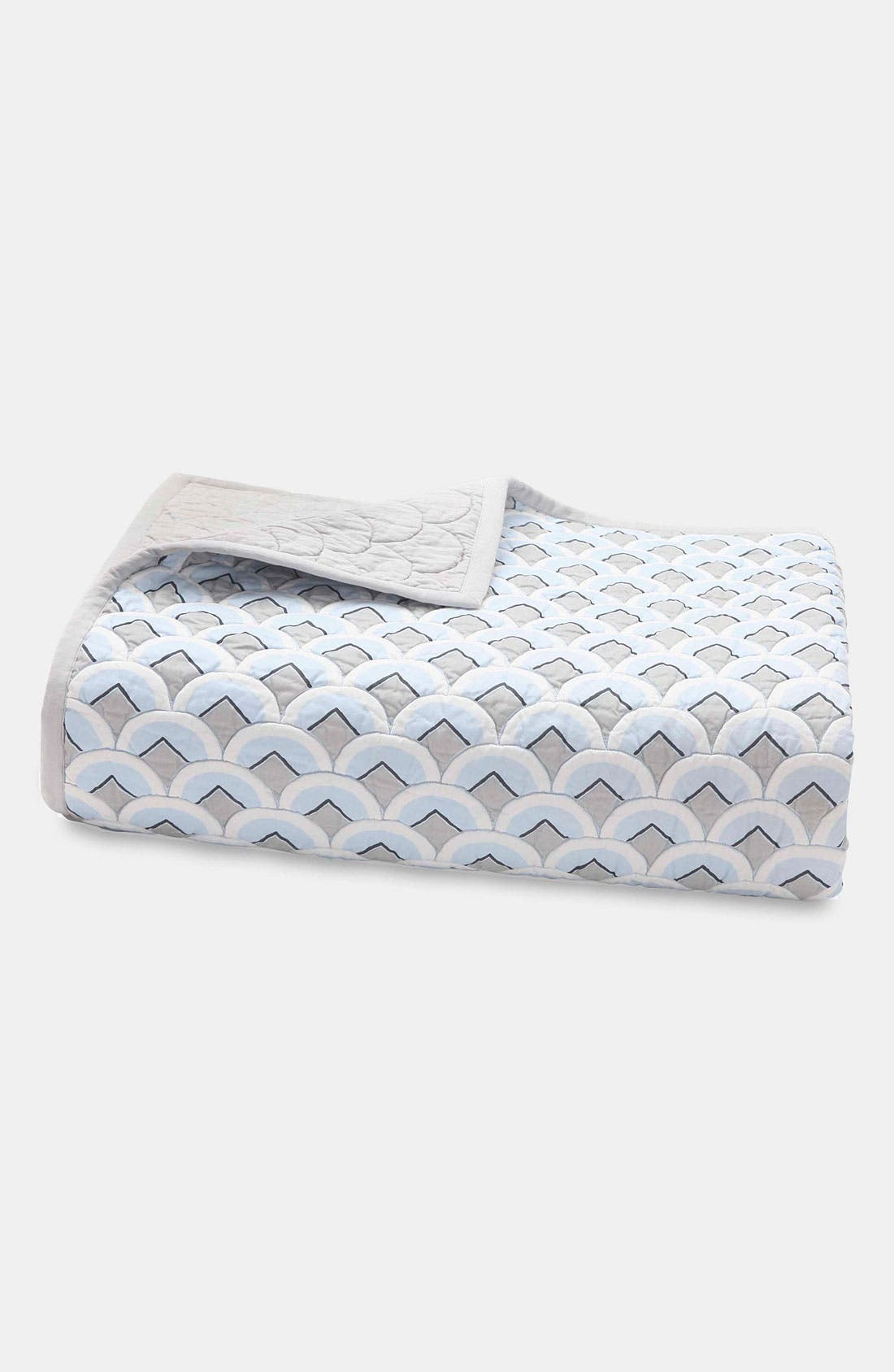 Alternate Image 1 Selected - kate spade new york 'deco geo' 400 thread count quilt