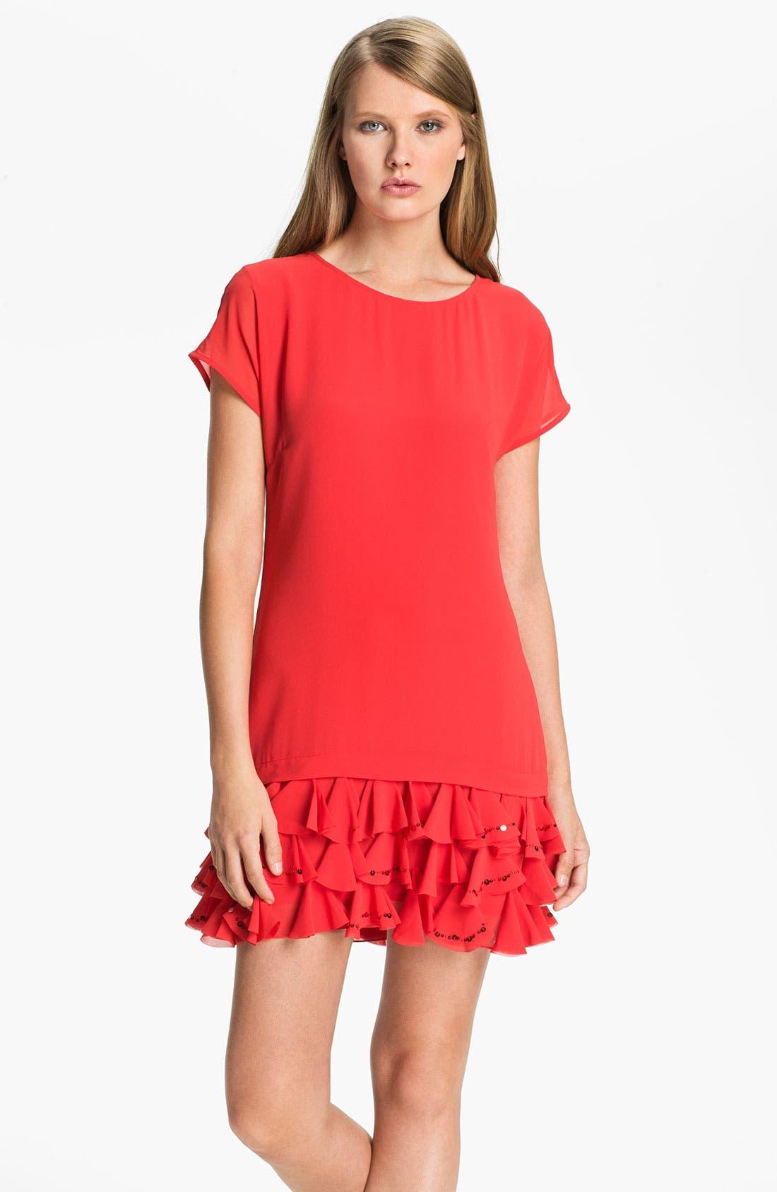 Alternate Image 1 Selected - Ted Baker London Ruffle Tunic Dress