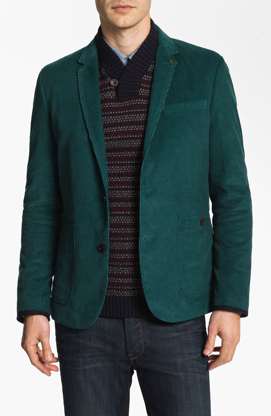 Alternate Image 1 Selected - Ted Baker London 'Pitajak' Corduroy Blazer