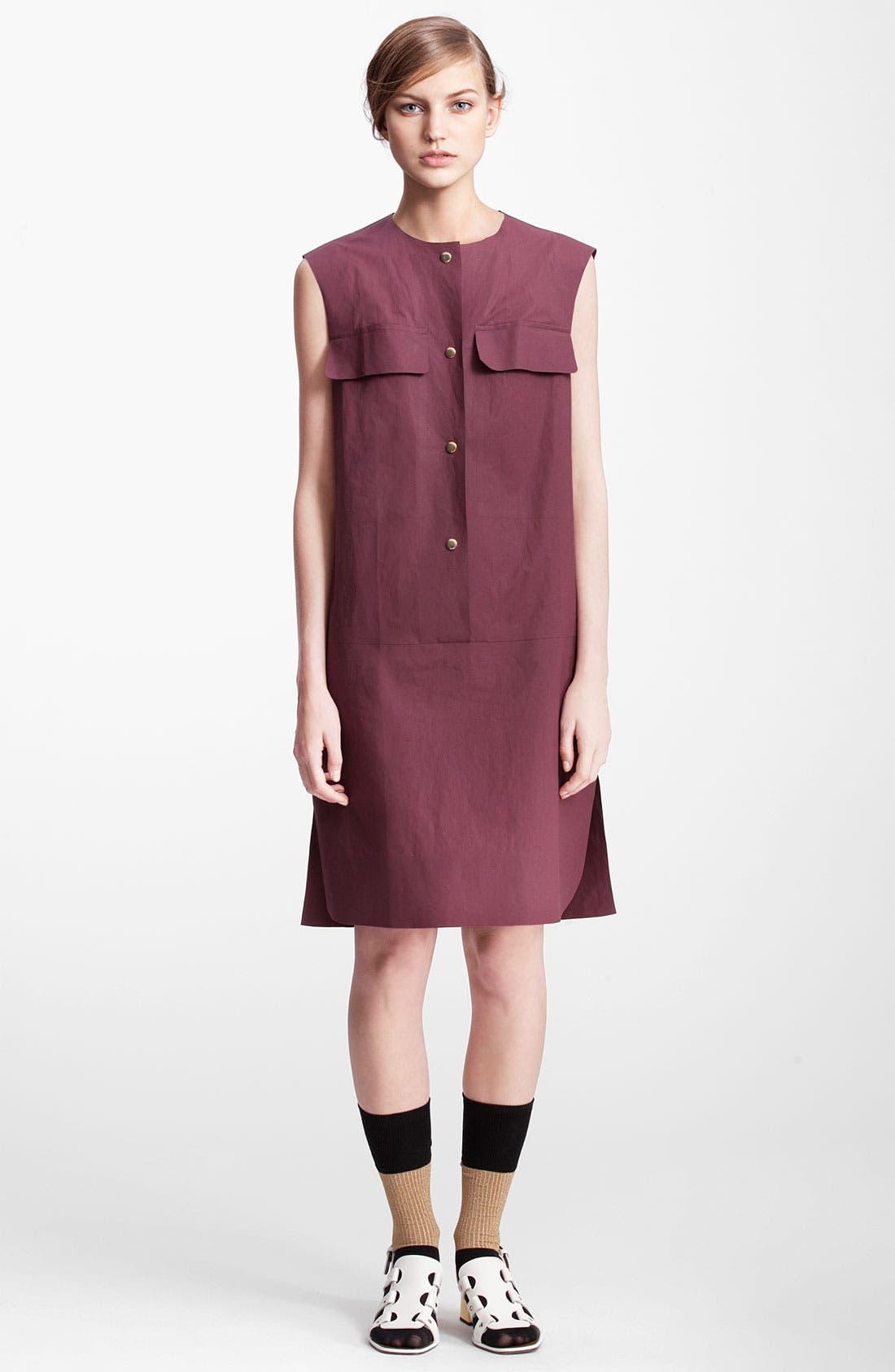 Main Image - Marni Edition Sleeveless Poplin Dress