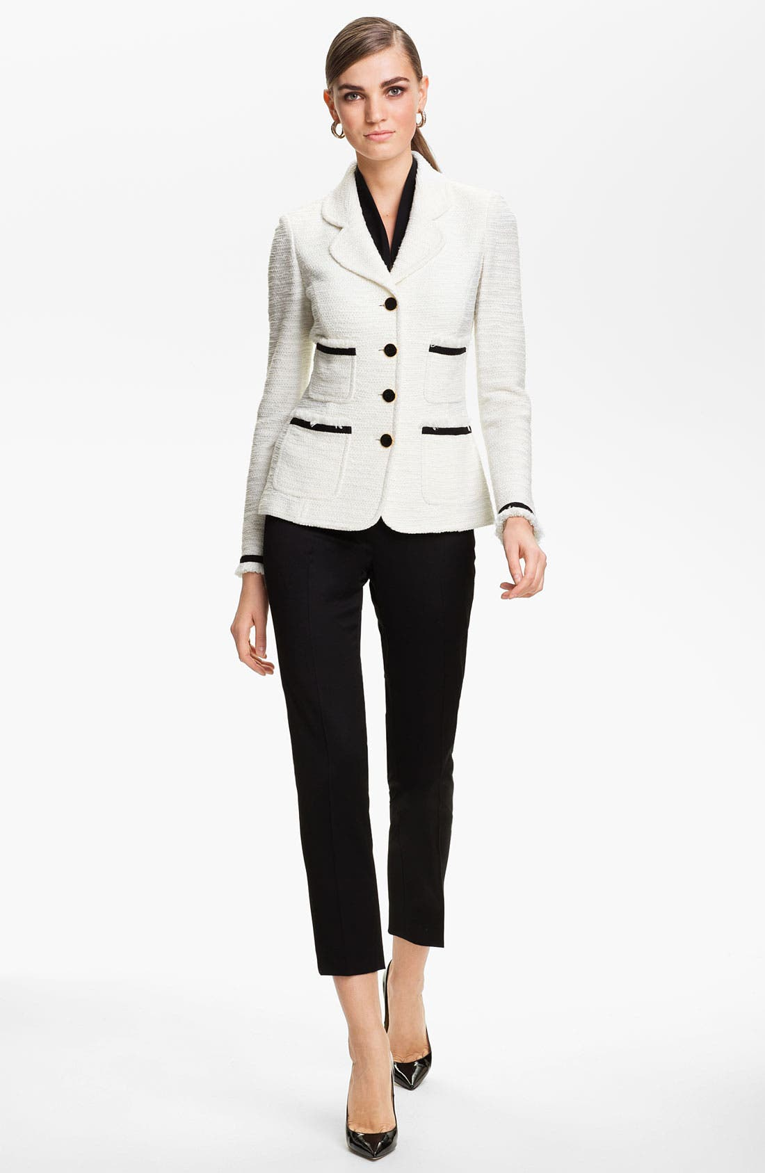 Alternate Image 2  - St. John Collection 'New Shantung' Jacket