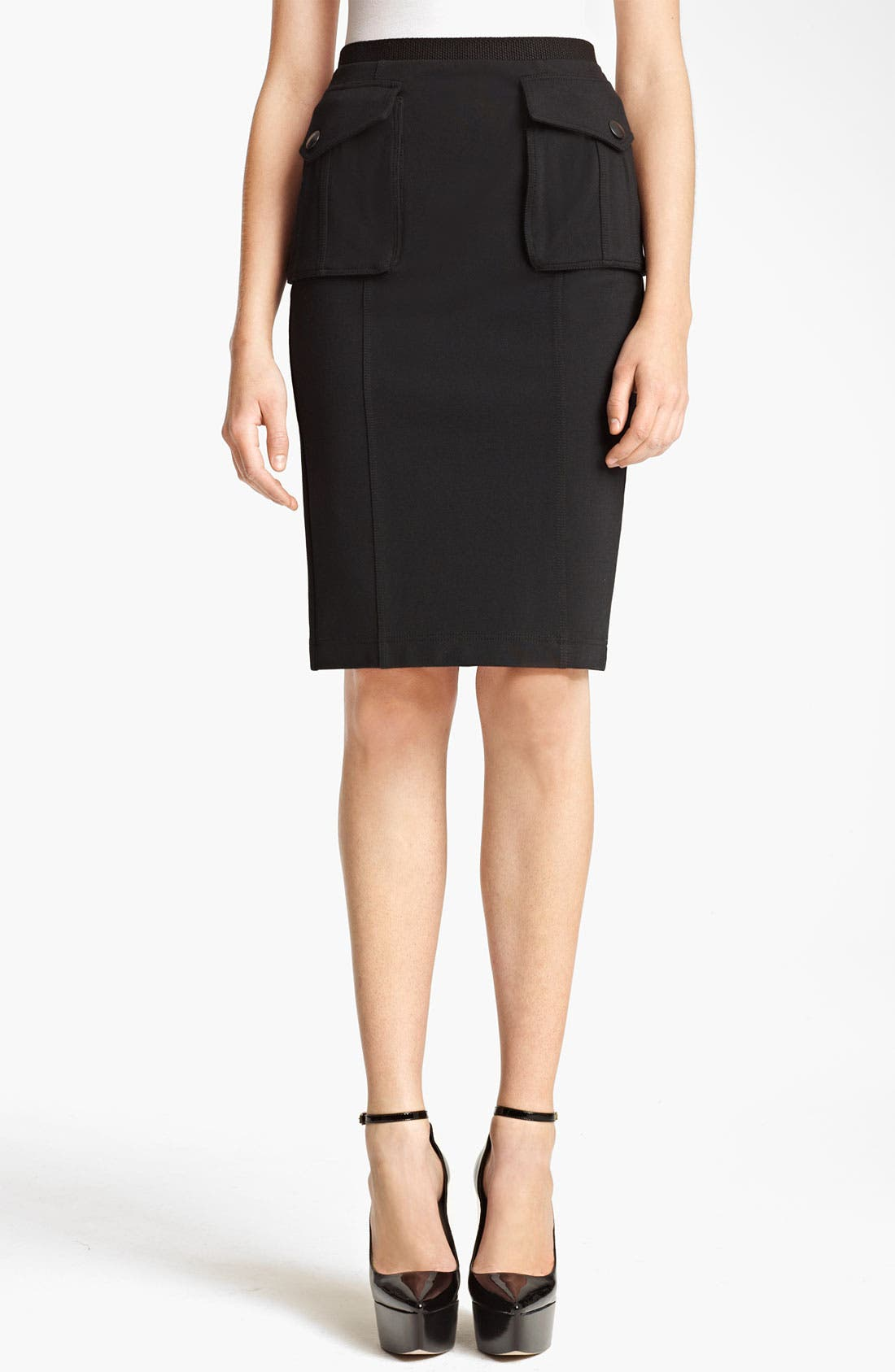 Main Image - Burberry Brit Pencil Skirt (Online Exclusive)